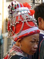 Red Dao Headdress