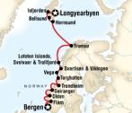 Norway Bergen-Longyearbyen